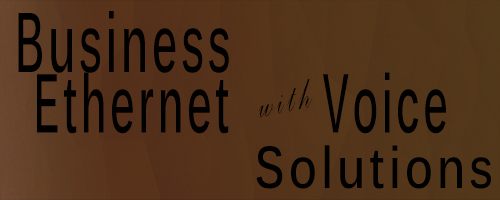 Business Ethernet with Voice Solutions
