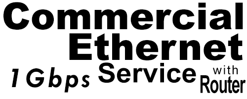 1Gig Commercial Ethernet Service with Router